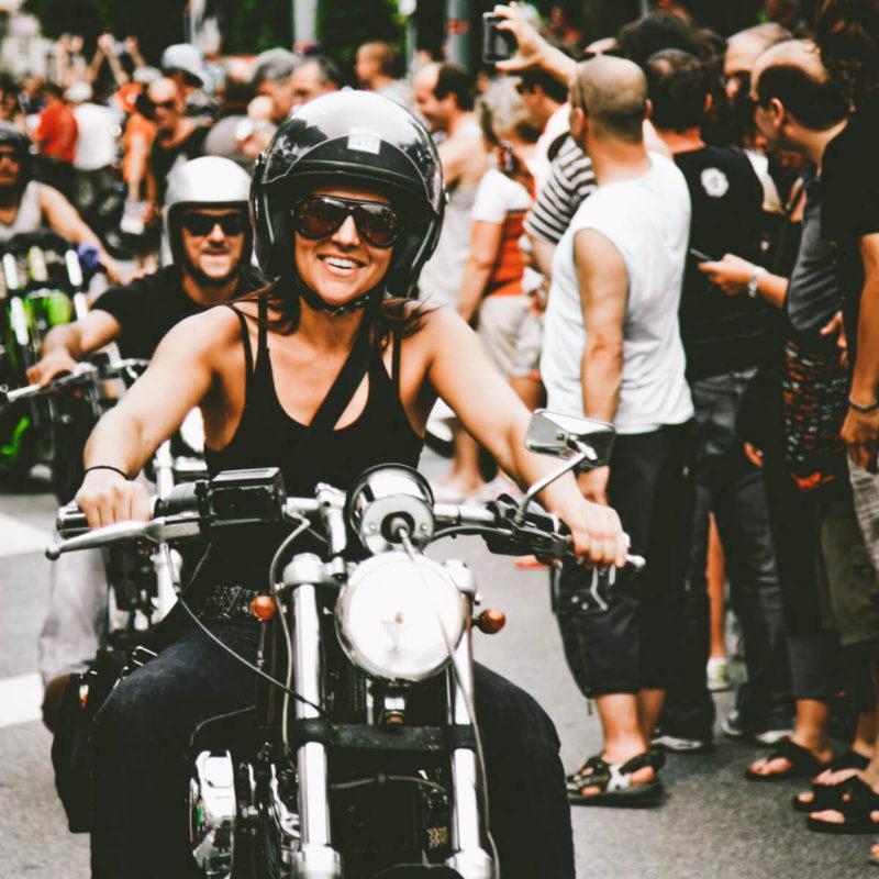 permis moto motarde