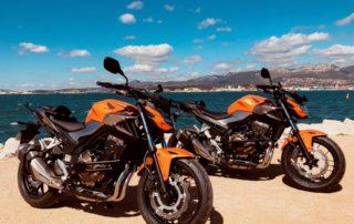 cours permis moto à Toulon avec l''école de conduite Guignabodet